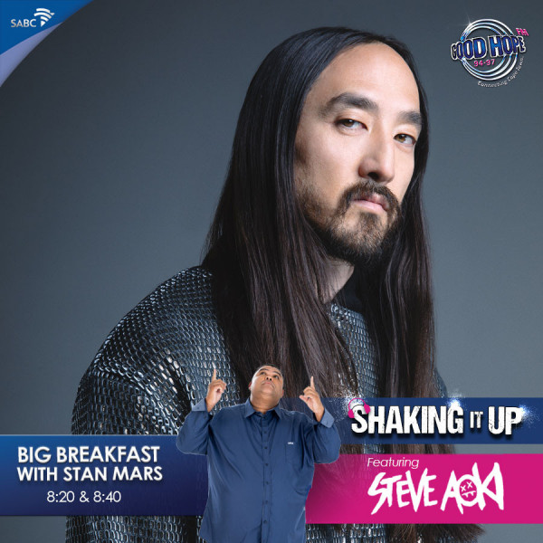Stan Mars, 29 May Steve Aoki Interview · Good Hope FM