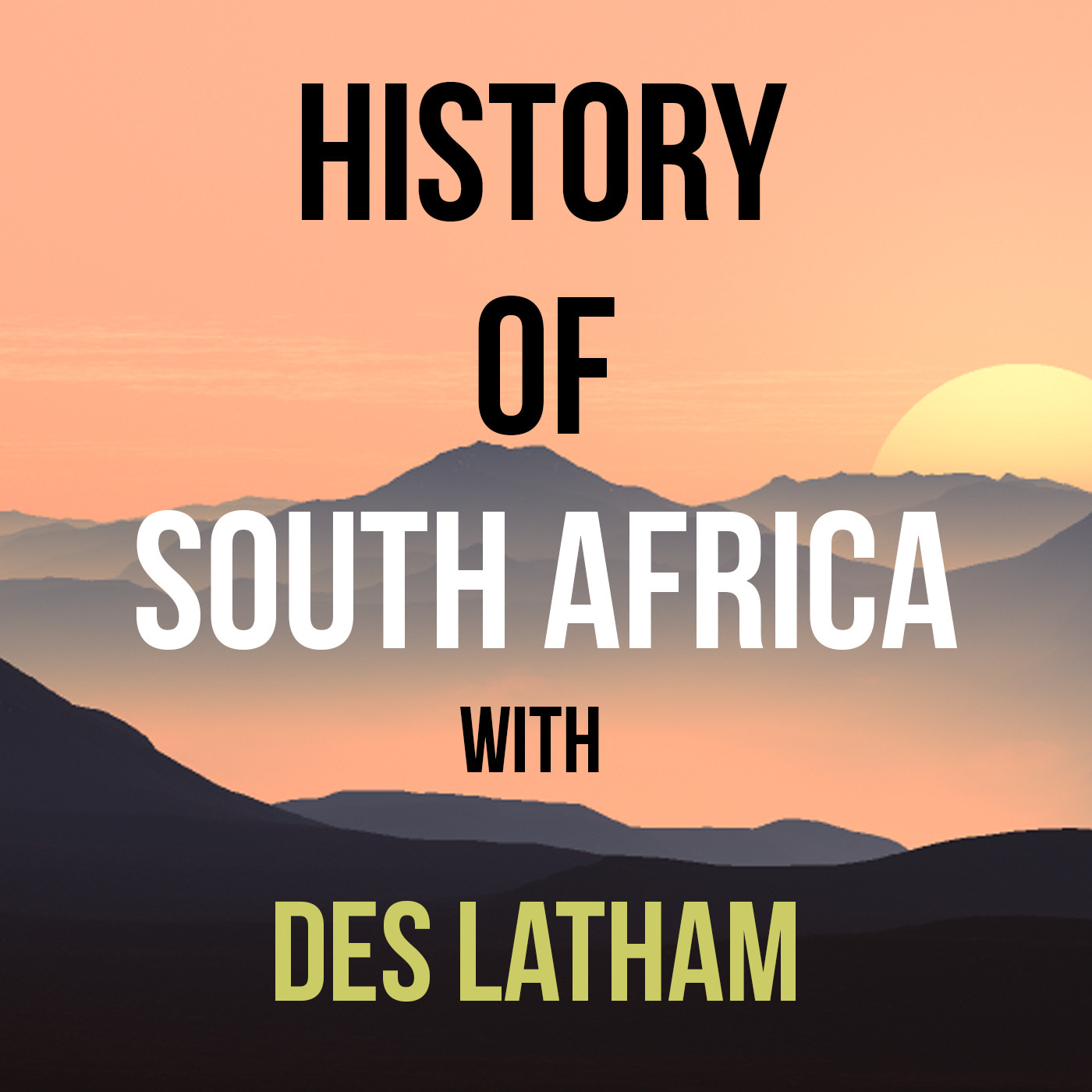 History of South Africa podcast